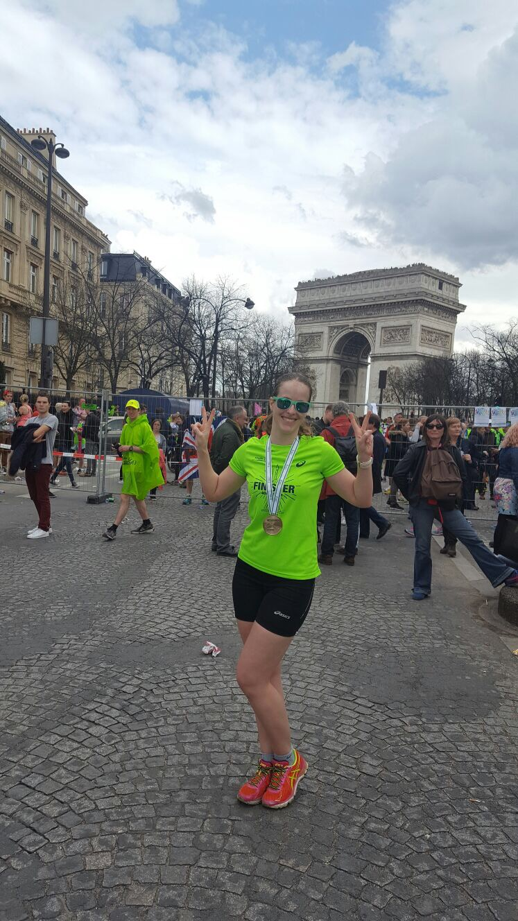 after Paris Marathon