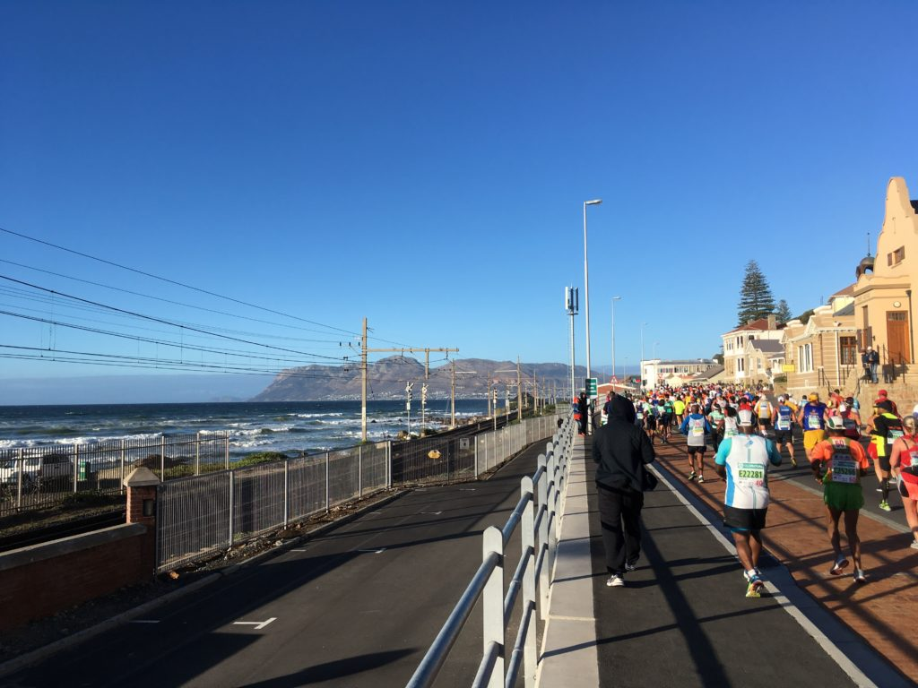 Two Oceans Marathon course