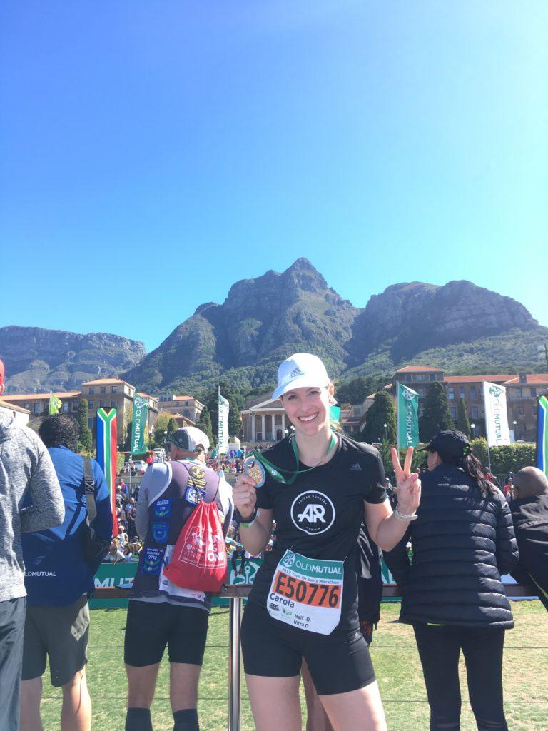 Two Oceans Marathon Finish