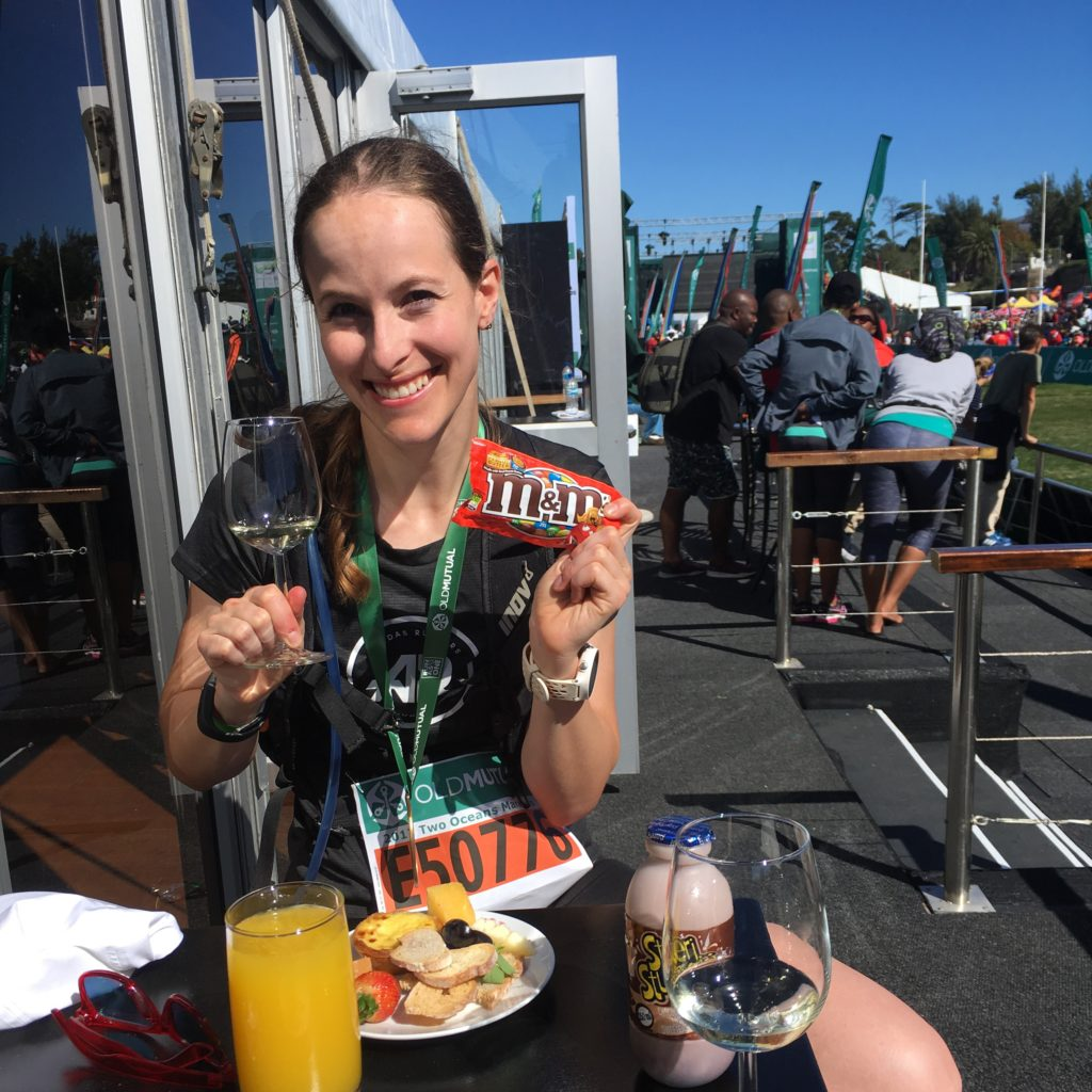 I finished the Two Oceans Marathon