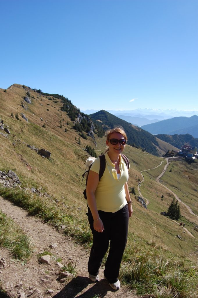 Hiking helped Manuela lose weight